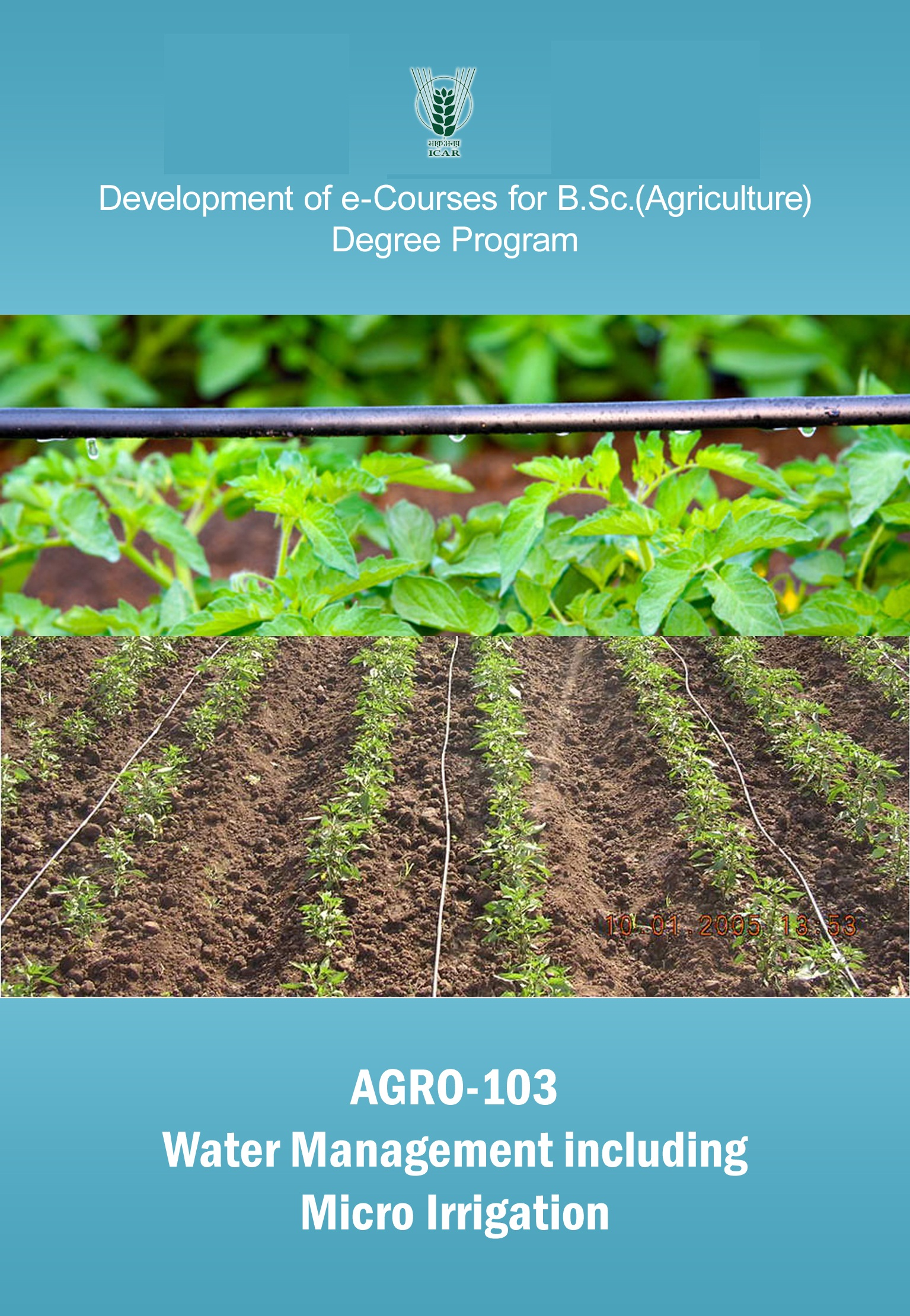 Water Management including Micro Irrigation PDF Books free