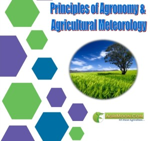 Cover page of Principles of Agronomy & Agricultural Meteorology