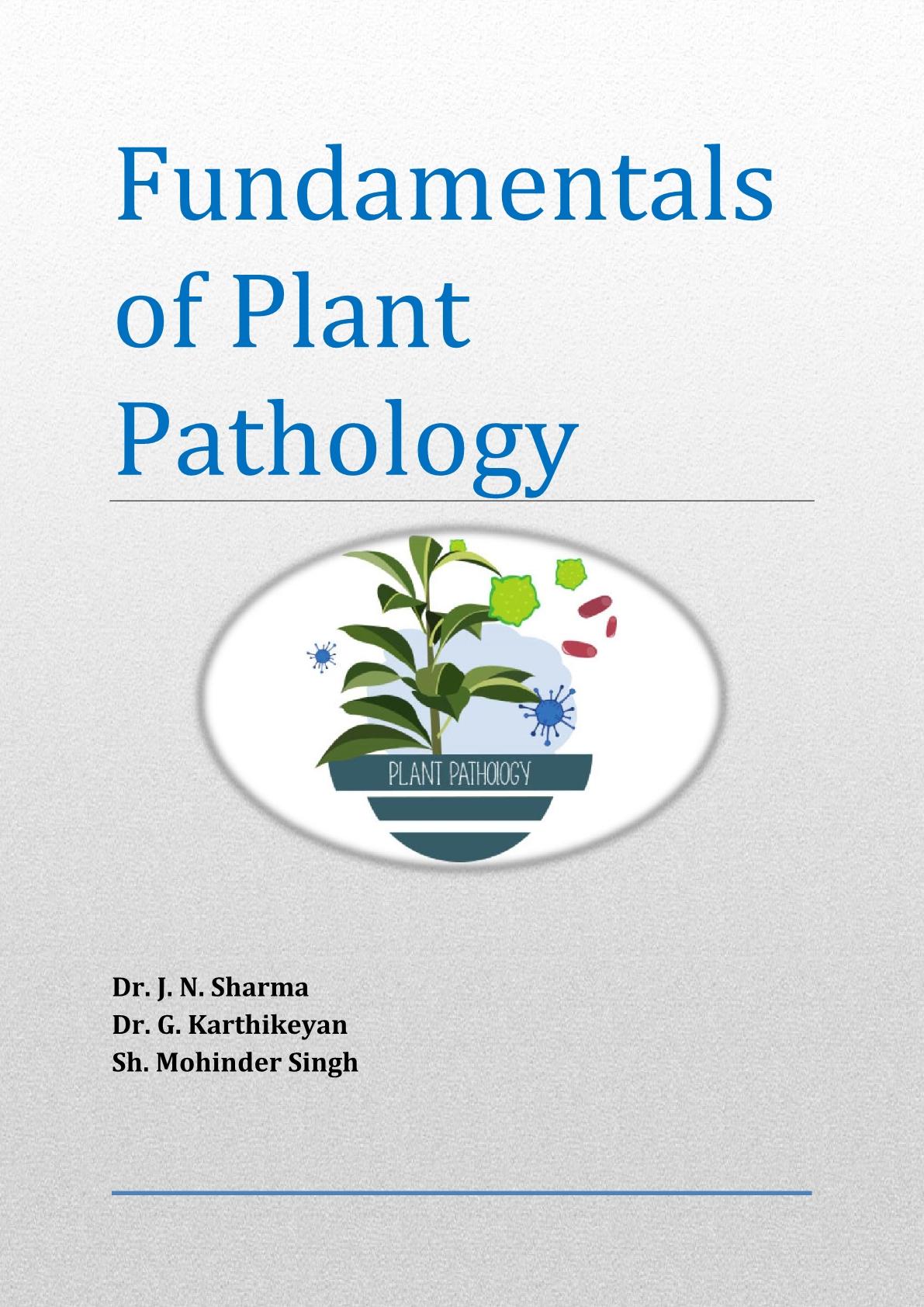 Fundamental of Plant Pathology - ICAR eCourse PDF Book -